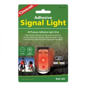 Coghlan's Adhesive Signal Light red
