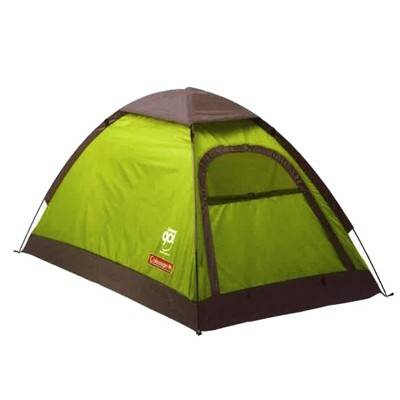 Coleman GO! 2P Dome Adventure lime grey