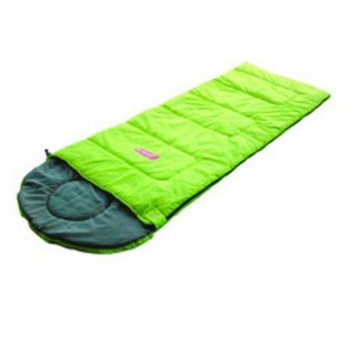 Coleman GO! C25 Hooded Sleeping Bag green