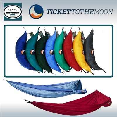 Ticket To The Moon Single Hammock One Colour various colour