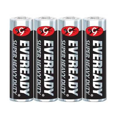 Eveready AA Battery Super Heavy Duty 4pcs