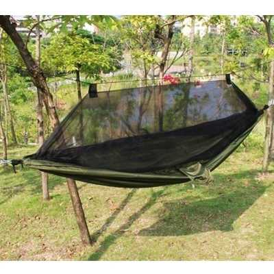ODP 0201 Hammock with Mosquito Net military green