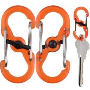 Nite Ize S-Biner Microlock orange
