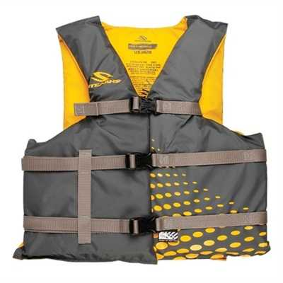 Stearns PFD 2001 Adult Universal Classic Nylon Life Vest Oversize gold