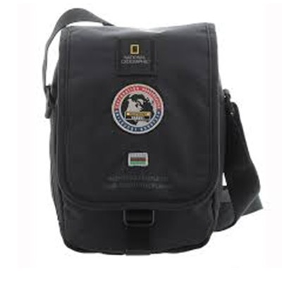 National Geographic Explorer Utility Bag with Flap black