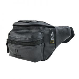 National Geographic Continent Waist Bag black