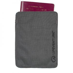 Lifeventure RFID Passport Wallet black