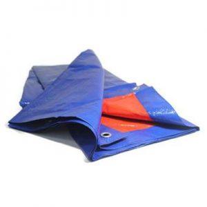 ODP 0430 Groundsheet 12' x 12' blue orange