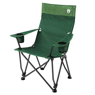 Coleman High Back Relax Chair green
