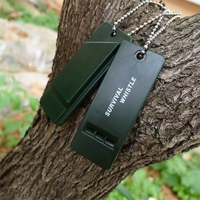 ODP 0426 Survival Whistle black