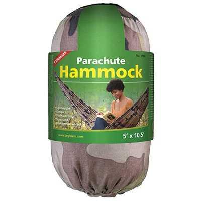 Coghlan's Single Parachute Hammock camo