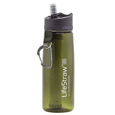 Lifestraw Go Bottle 2-Stage Filtration green
