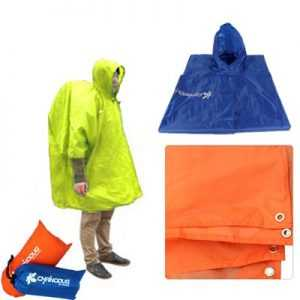Chanodug ODP 0485 3-in-1 Poncho neon