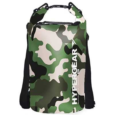 Hypergear Adventure Dry Bag 20L camou green delta