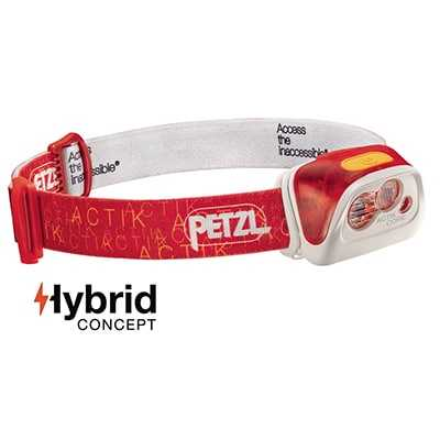Petzl Actik Core Headlamp (2017) red