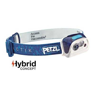 Petzl Actik Headlamp (2017) blue