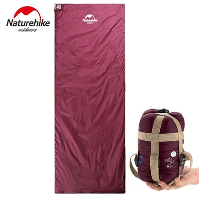 Naturehike Compression Ultralight Sleeping Bag burgundy
