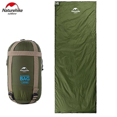 Naturehike Compression Ultralight Sleeping Bag green