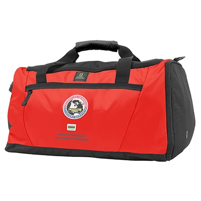 National Geographic Explorer Duffel Bag red