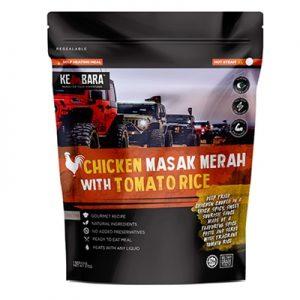 Kembara ODP 0498 Chicken Masak Merah with Tomato Rice