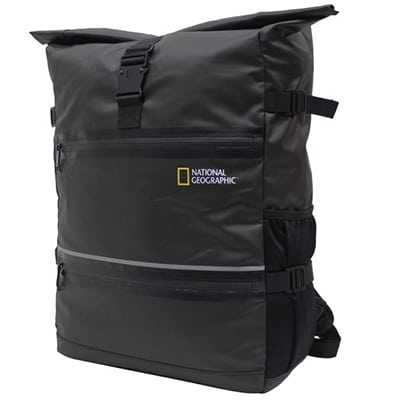 National Geographic Waterproof Backpack L black