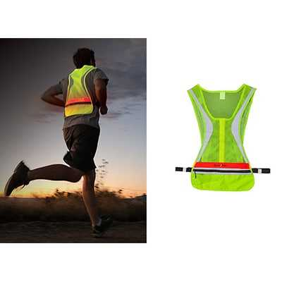 Nite Ize LED Run Vest Red LED S M