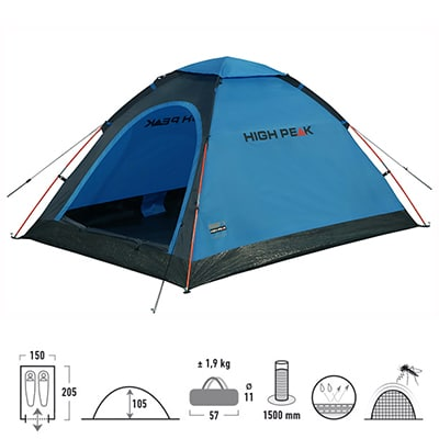 High Peak Monodome blue-grey