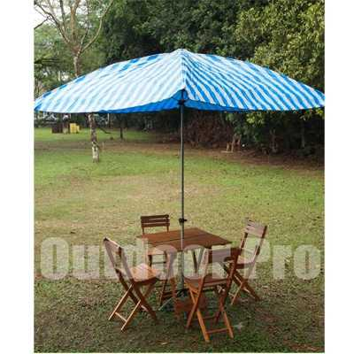 Bazoongi ODP 0395 8 feets Umbrella blue