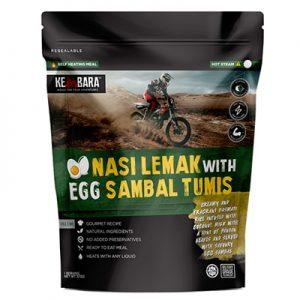 Kembara ODP 0501 Nasi Lemak with Egg Sambal Tumis