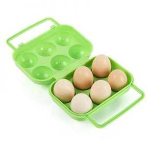ODP 0503 Plastic Eggs Container light green
