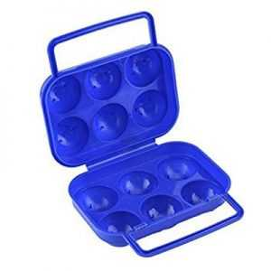 ODP 0504 Plastic Eggs Container blue