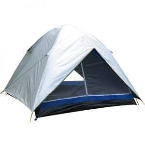 Bazoongi ODP 0400 1503 CI 4 Persons Silver Dome Tent