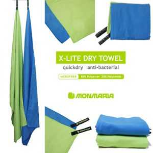 Monmaria X-Lite Dry Travel Towel light green