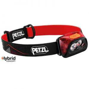 Petzl Actik Core Headlamp (2019) red