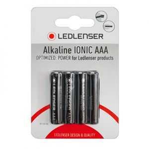 LED Lenser AAA Alkaline IONIC Batteries