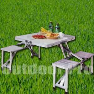 Bazoongi ODP 0410 Aluminium Fold Table