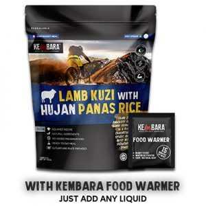 Kembara ODP 0511 Lamb Kuzi with Hujan Panas Rice