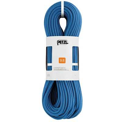 Petzl 9.8mm Contact Dynamic Rope 45m blue