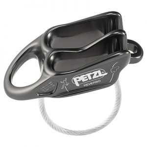 Petzl Reverso Belay Device (2019) gray