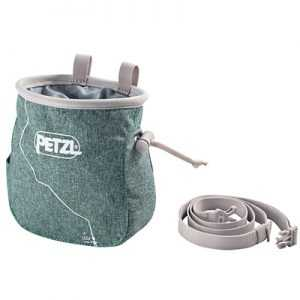 Petzl Saka Chalk Bag (2018) mottled green