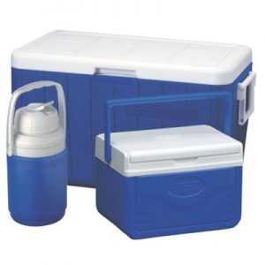 Coleman 48QT 45L Cooler Combo blue