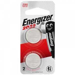 Energizer CR2032 3V Lithium Battery 2pcs