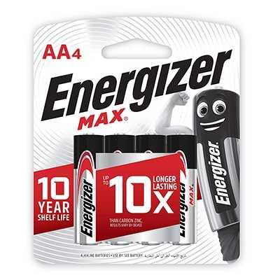 Energizer Max AA Battery 4pcs