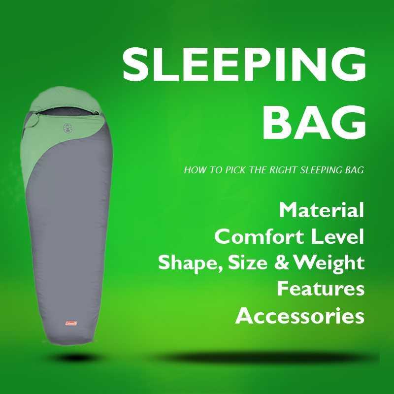 Cara Pemilihan Sleeping Bag