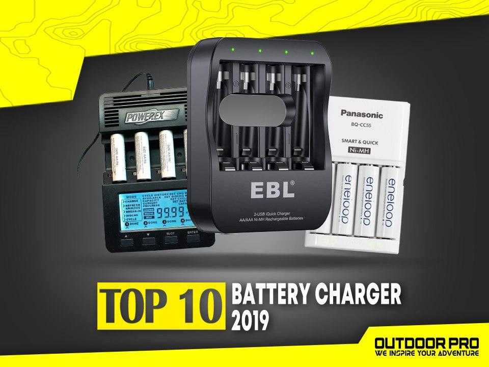 Top 10 Battery Charger Terbaik 2019