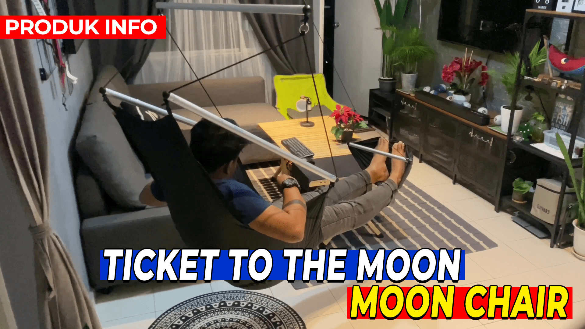 TICKET TO THE MOON - MOON CHAIR