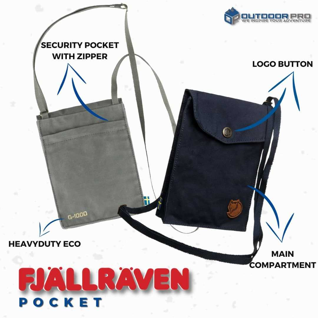 ACCESSORIES FASHION UNTUK CASUAL AND RAYA ❓ GO FOR FJALLRAVEN POCKET..