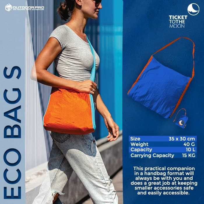 TICKET TO THE MOON ECO BAG