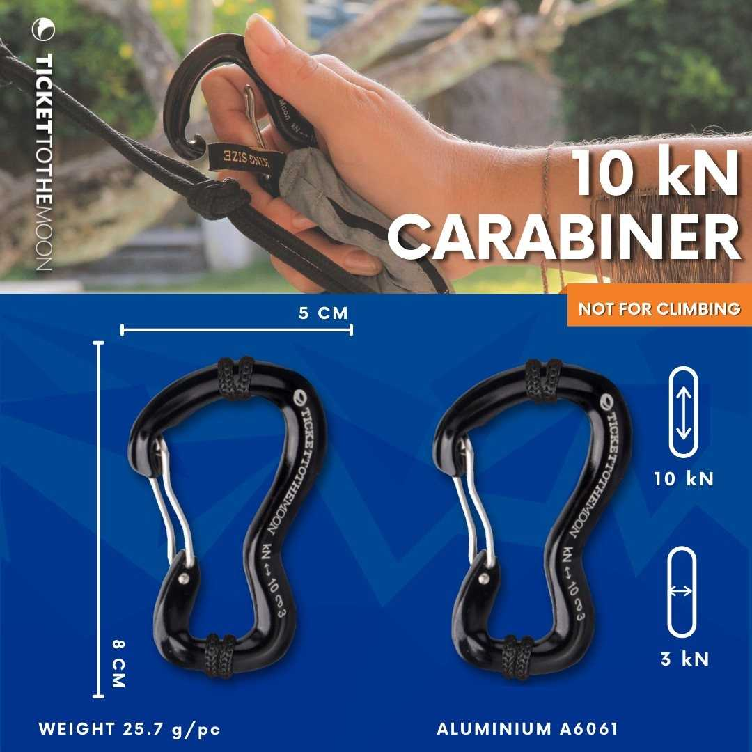 TICKET TO THE MOON CARABINER 10KN